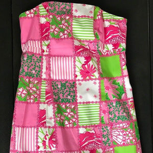 Lilly Pulitzer Franco strapless dress-2